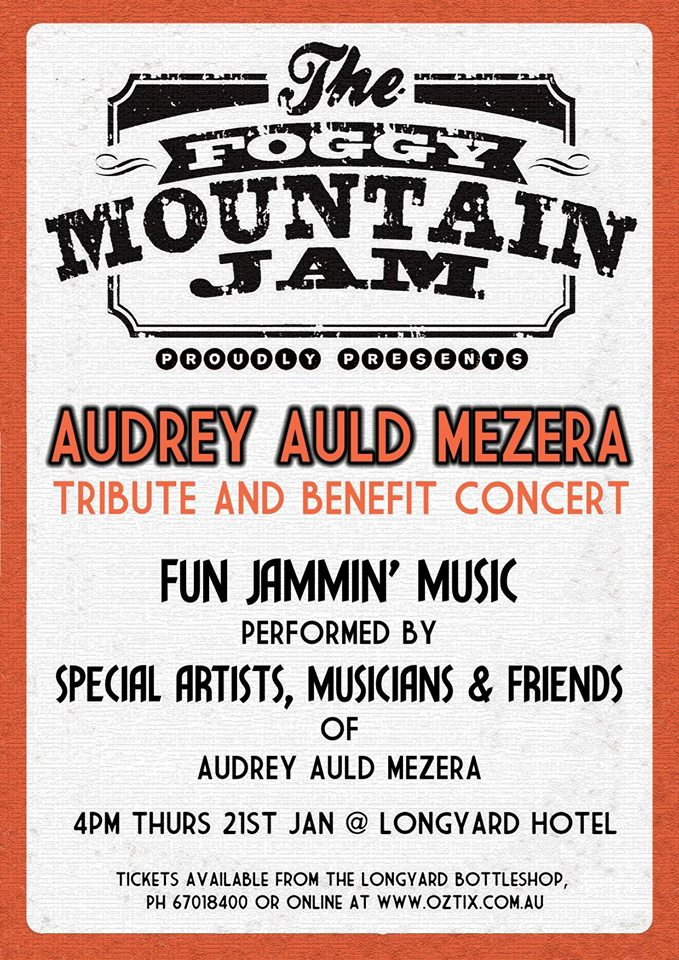 FOGGY MOUNTAIN JAM POSTER JAN 21